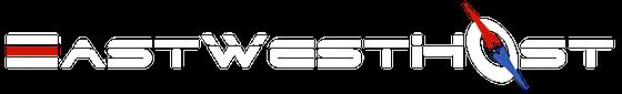 EastWestHost Logo White